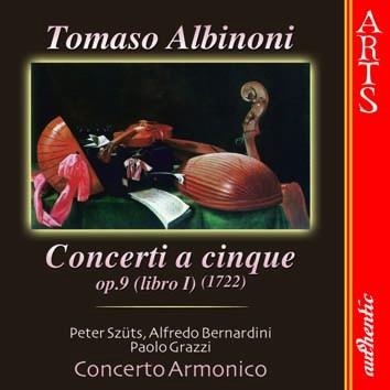 Albinoni: Concerti a Cincque, Op. 9 (Libro I)