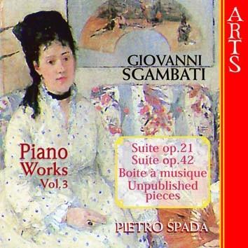 Sgambati: Complete Piano Works, Vol. 3
