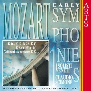 Mozart: Early Symphonies, Vol. 1