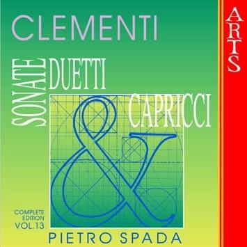 Clementi: Sonate, Duetti & Capricci, Vol. 13