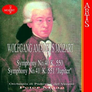 """Mozart: Symphonies No. 40, K. 550 & No. 41, K. 551 """"Jupiter"""""""