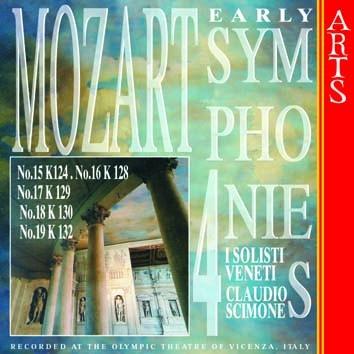 Mozart: Early Symphonies, Vol. 4