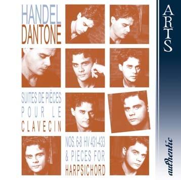 Handel: Suites de Piéces pour le Clavecin, Nos. 6-8, HV 431-433, & Pieces For Harpsichord, Vol. 2