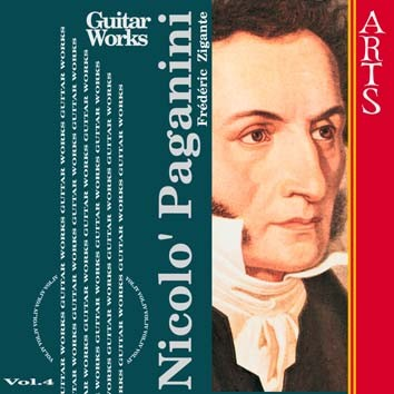 Paganini: Guitar Music, Vol. 4