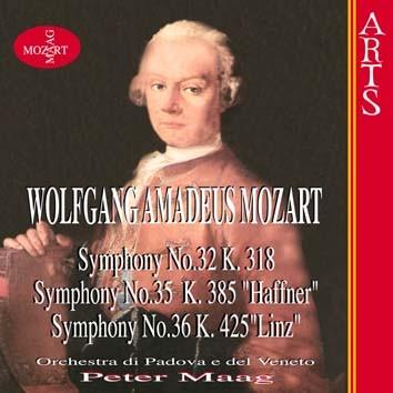 "Mozart: Symphonies No. 32, K. 318, No. 35, K. 385 ""Haffner"" & No. 36, K. 425 ""Linz"""