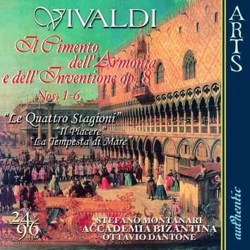 Vivaldi: Il Cimento dell'Armonia e dell'Inventione, Op. VIII, Vol. 1