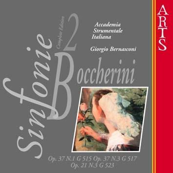 Boccherini: Sinfonie Nos. 1 & 3, Op. 37 & No. 3, Op. 21, Vol. 2