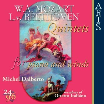 Mozart & Beethoven: Quintets For Piano And Winds