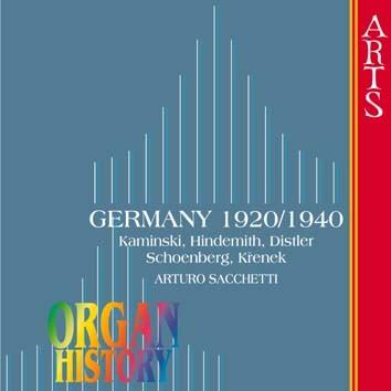 Organ History, Germany