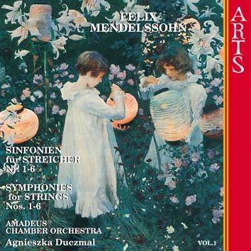 Mendelssohn: Symphonies For Strings Nos. 1-6, Vol. 1
