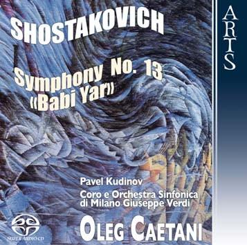 "Shostakovich: Symphony No. 13, Op. 113 ""Babi Yar"""