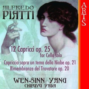 Piatti: 12 Capricci For Cello solo, Op. 25
