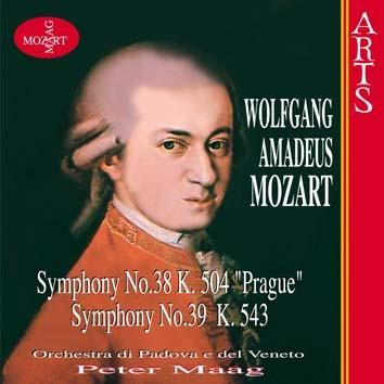 """Mozart: Symphonies No. 38, K. 504 """" Prague """" & No. 39, K. 543"""