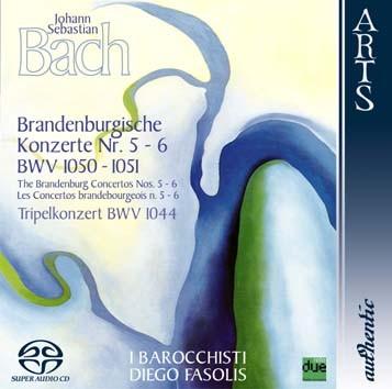 Bach: Brandenburg Concertos Nos. 5-6, BWV 1050-1051 & Triple Concerto, BWV 1044