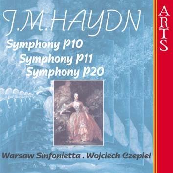 Haydn: Symphonies P. 10, P. 11 & P. 20