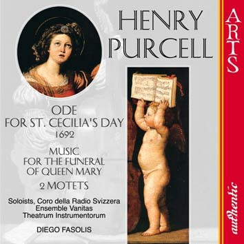 Purcell: 2 Motets, Ode For St. Cecilia's Day & Music For The Funeral Of Queen Mary