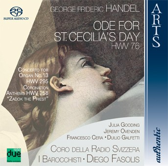 Handel: Ode For St. Cecilia's Day, HWV 76, Concerto For Organ No. 13, HWV 295 & Coronation Anthems,