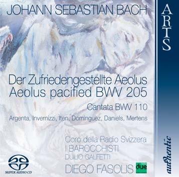 """Bach: Cantata """"Der Zufriedengestellte Aeolus"""", BWV 205 & Cantata """"Unser Mund sei voll Lachens"""", BWV"""