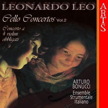Leo: Concerti per Violoncello, 2 Violini e Continuo, Vol. 2 & Concerto a 4 Violini Obbligati e Conti
